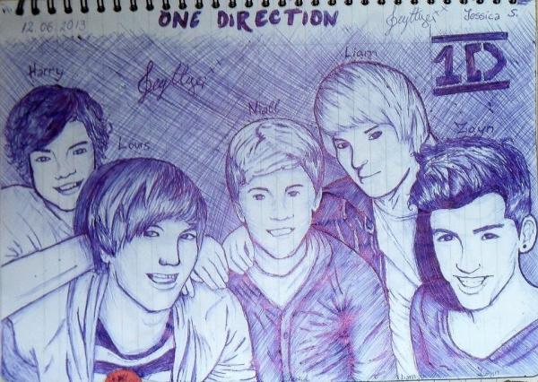 One Direction by zyzypetsXD